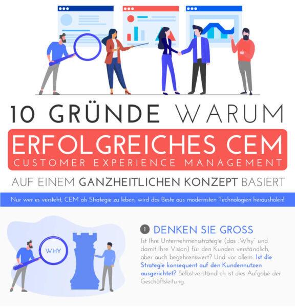 10 Gründe warum CEM auf einem ganzheitlichen Konzept basiert